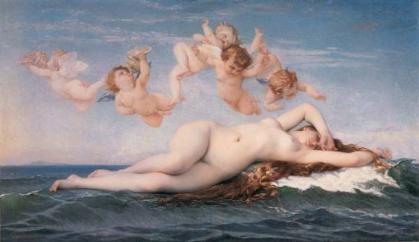 Cabanel The Birth of Venus 1863